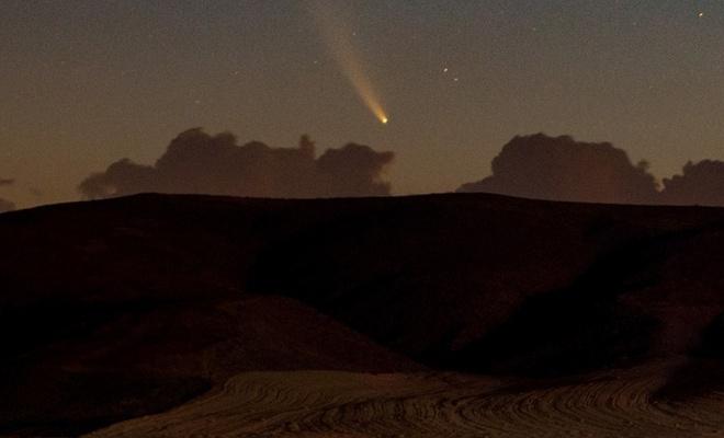 Neowise kuyruklu yıldızı bu illerimizden gözlendi (FOTO)
