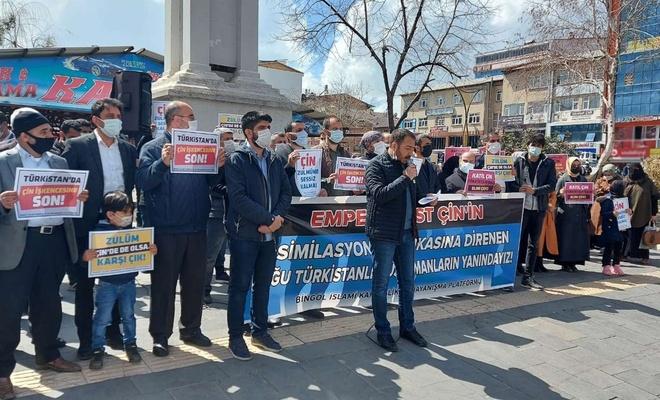 Doğu Türkistanlı Müslümanlara insanlık dışı zulüm uygulayan Çin'e boykot çağrısı