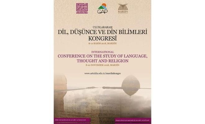 """""""Uluslararası Dil, Düşünce ve Din Bilimleri Kongresi"""" düzenlenecek"""