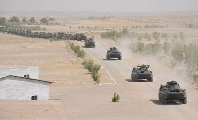 Rusya-Tacikistan-Özbekistan üçlü askeri eğitim tatbikatı başladı