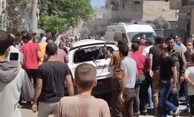 El Bab'da SMO aracına saldırı: Bir ölü