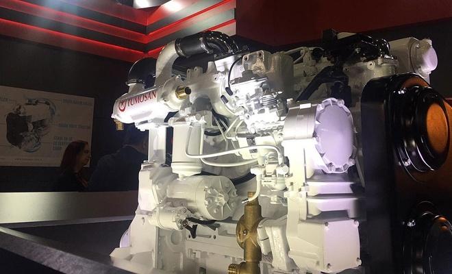 Yerli deniz motoru tanıtıldı