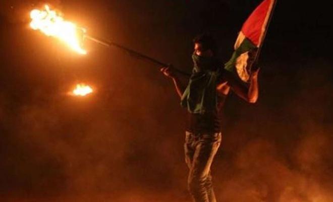 Siyonist işgalciler Malakah kampına saldırdı: 6 yaralı