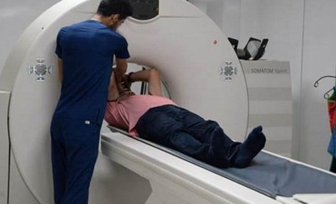 Diyarbakır`da Kürtçe komutlu tomografi cihazı