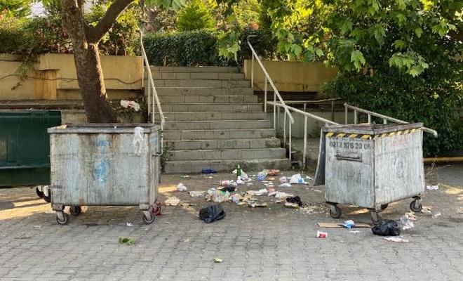 Caddebostan sahilindeki çöp manzaraları eskiyi aratmadı
