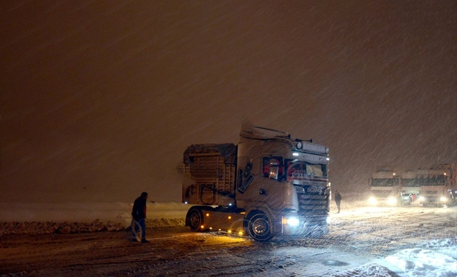 Bitlis'te kar yağışı etkili oluyor