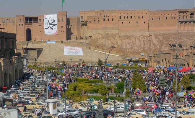 Mevlid Kandili, Erbil'de coşkuyla idrak edildi