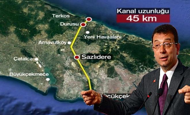 İmamoğlu: Kanal İstanbul 23 Haziran'da iptal edildi