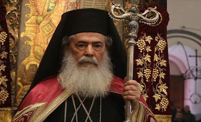 Kudüs Rum Ortodoks Kilisesi Patriği'nden İslam'a hakarete  kınama