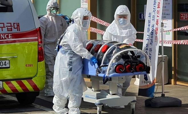 Güney Kore 104 yeni Coronavirus vakası bildirdi