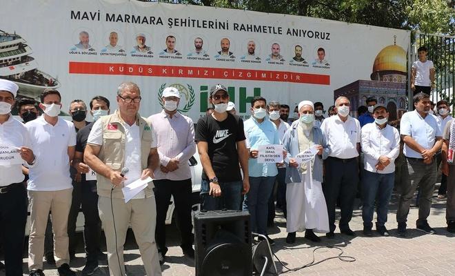 Şanlıurfa'da işgalci siyonistlerin Mescid-i Aksa baskını lanetlendi
