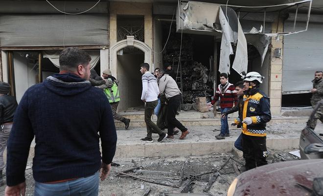 Azez ve Bab'da  bombalı saldırılar