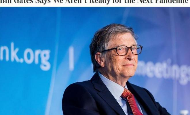 Bill Gates: Bir sonraki salgına hazır değiliz