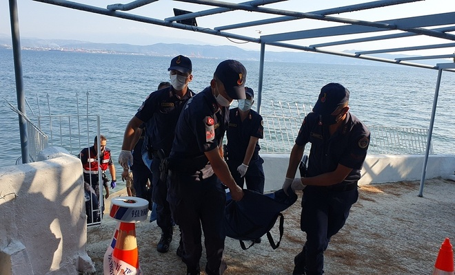 Bursa'da denizde kadın cesedi bulundu
