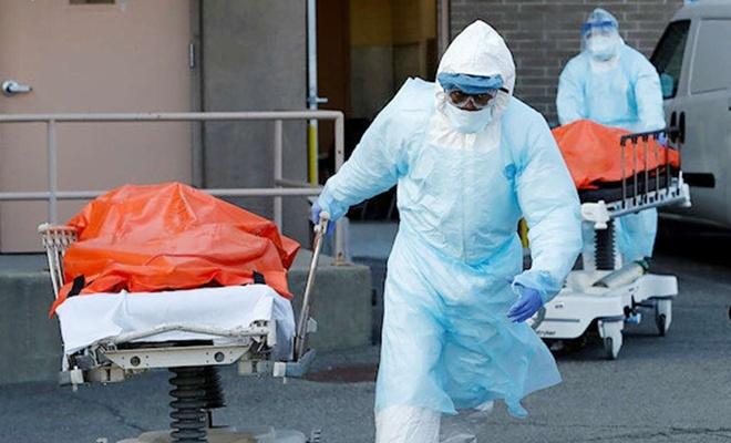 ABD'de Coronavirus'ten 927 kişi daha öldü