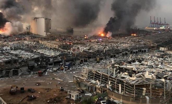 Beyrut'taki patlama yargıya taşındı