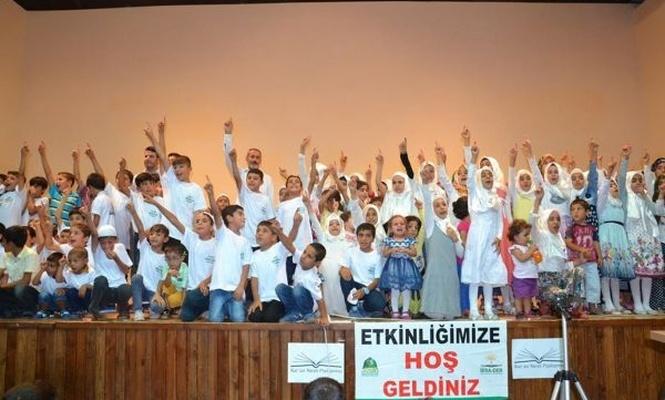 Siverek`te çocuklara yönelik namaz programı düzenlendi