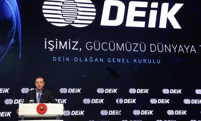 DEİK olağan genel kurulu İstanbul`da gerçekleşti