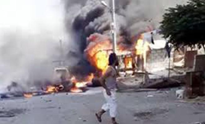 Afrin'de, YPG'den bomba yüklü araç saldırısı!