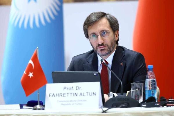 Επικεφαλής Επικοινωνιών Altun: Είμαστε έτοιμοι να συνεργαστούμε με τα τουρκικά κράτη στον τομέα της επικοινωνίας.