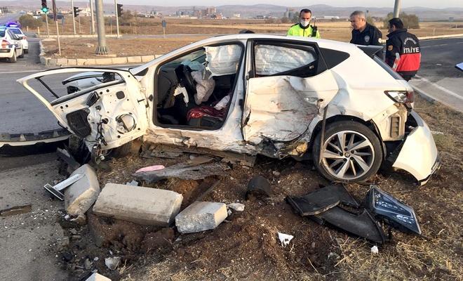 Yaşanan kazada iki kişi hayatını kaybetti