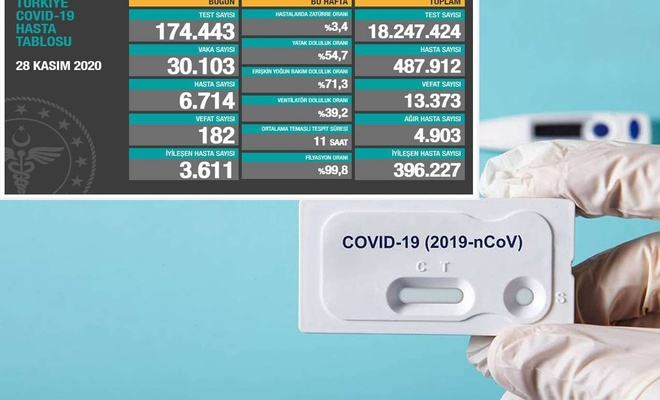 Turkey reports 30,103 daily confirmed cases of COVID-19