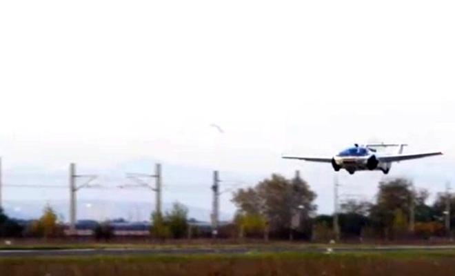 Slovakyalı şirket, üç dakika içerisinde otomobilden uçağa dönüşen araç geliştirdi