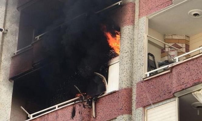 Diyarbakır`da korkutan yangın