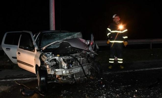 Tekirdağ'da iki otomobil kafa kafaya çarpıştı: Ölü ve yaralılar var