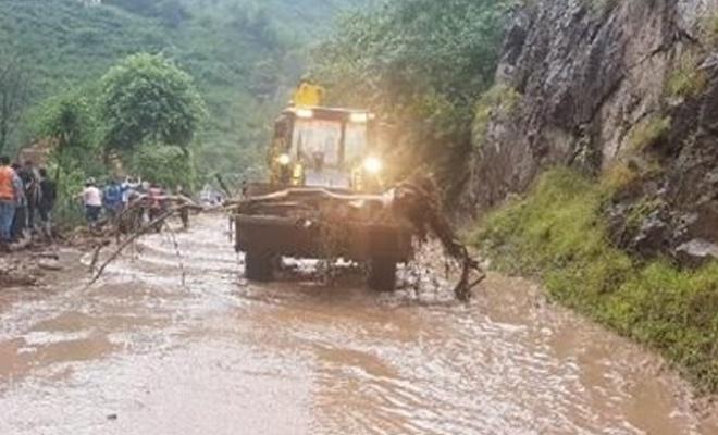 Trabzon'da sel felaketinde can kayıpları var