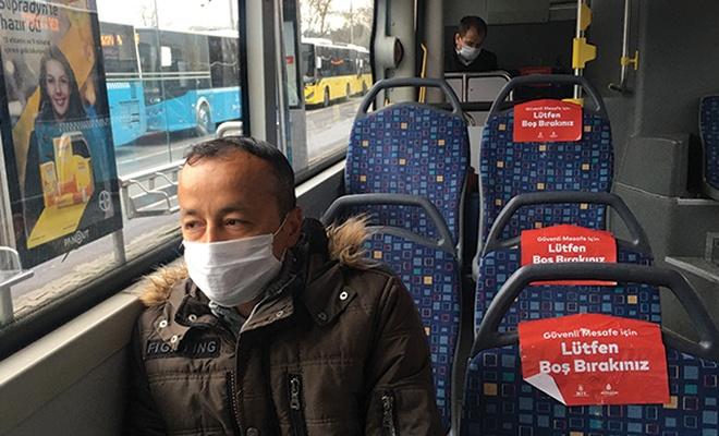 Toplu taşımada sınırlama kaldırıldı