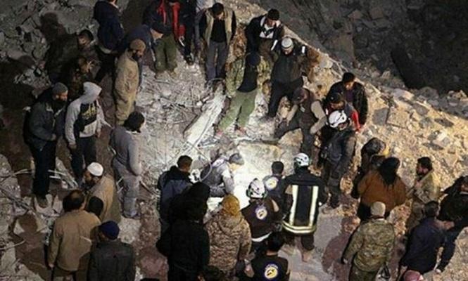ABD Deyrizor`da 2 camiyi vurdu: 65 kişi katledildi