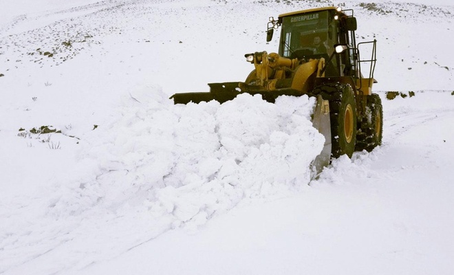 Bu ilimizde 141 köy yolu ulaşıma kapandı