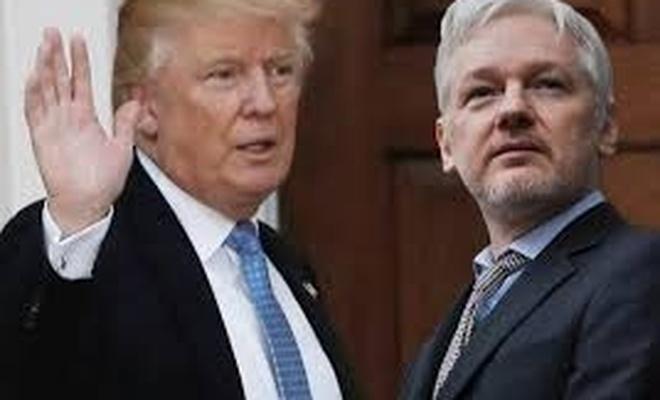 Trump'la ilgili  'Assange' iddiası