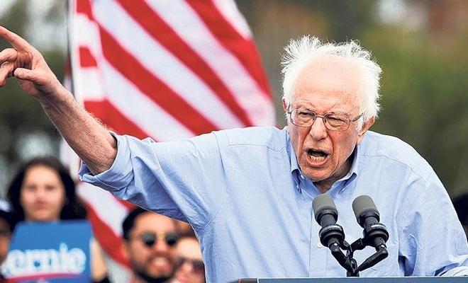 ABD'de Demokrat aday adayı Sanders: İsrail'i reaksiyoner bir ırkçı yönetiyor
