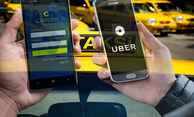 Taksiciler Odası`ndan UBER`in rakibine tepki çeken ziyaret