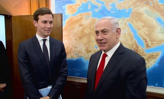 """İsrail Hayom Gazetesi """"Yüzyılın Anlaşması""""nı yayımladı"""