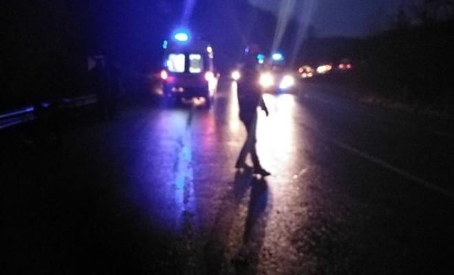 D140 karayolunda kaza: yaralılar var