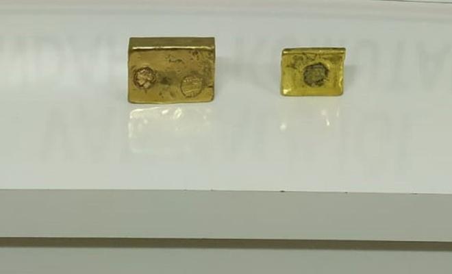 Hitit ve Urartu dönemine ait 4 kilo kültçe altın ele geçirildi