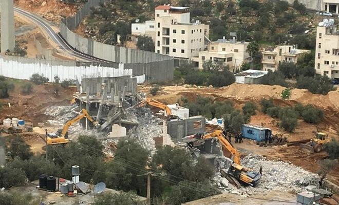 الاحتلال هدمت 165 منزلًا بالقدس منذ بدء العام الحالي