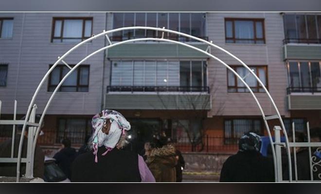 Ankara'da 4 katlı bina tahliye edildi