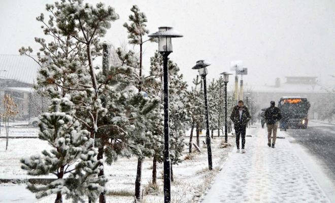 Doğu'da kar yağışı etkisini artırdı