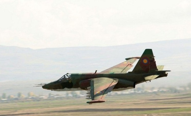 Azerbaycan ordusu, Ermenistan'a ait savaş uçağını düşürdü!