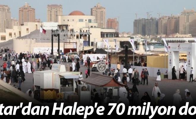 Katar`dan Halep`e 70 milyon dolar