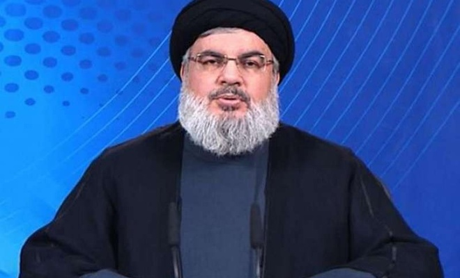 Nasrallah hails Palestinian victory against zionist regime