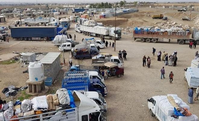 Kerkük ve Diyala'daki iç göçmenlere ait tüm kamplar kapatıldı