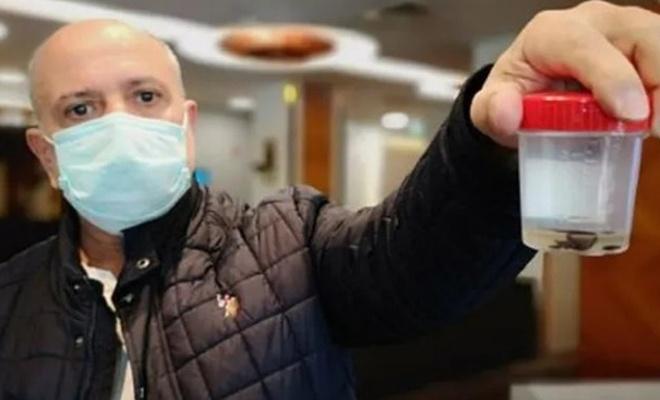 Kanser sanmışlardı... Akciğerinden çıkan şoke etti