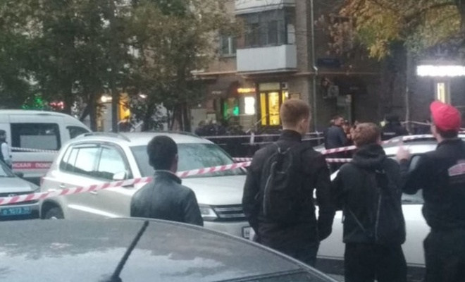 Moskova'da polis cinayeti