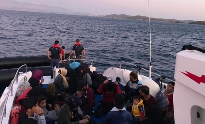 Son bir haftada bin 234 düzensiz göçmen yakalandı