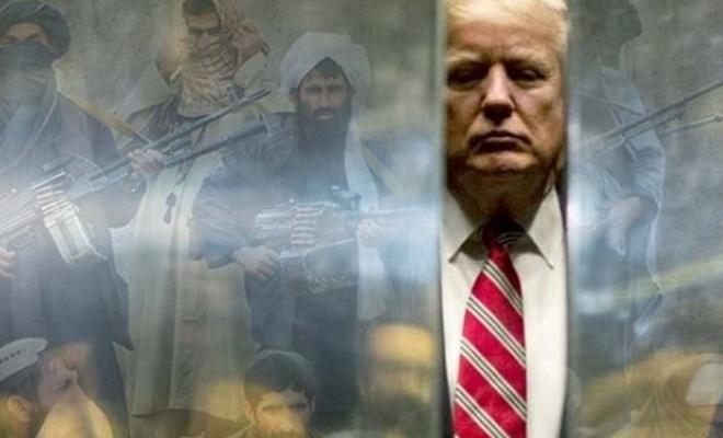Trump'tan Taliban ile barış anlaşması açıklaması